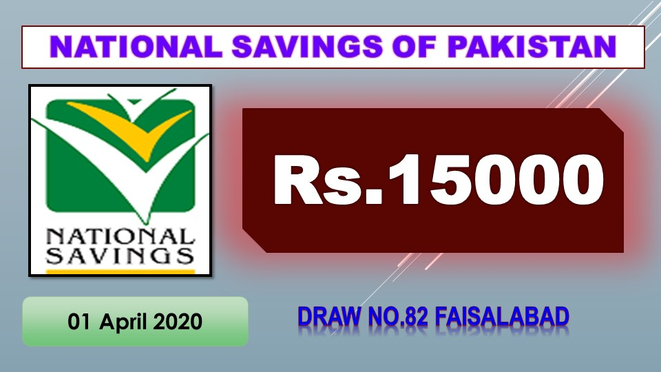 Rs 15000 Prize Bond Held in Faisalabad