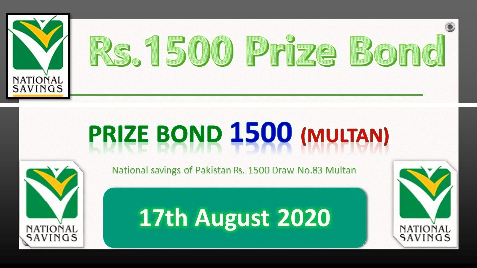 Prize Bond 100 List 17 August 2020 Draw Result No.31 Quetta